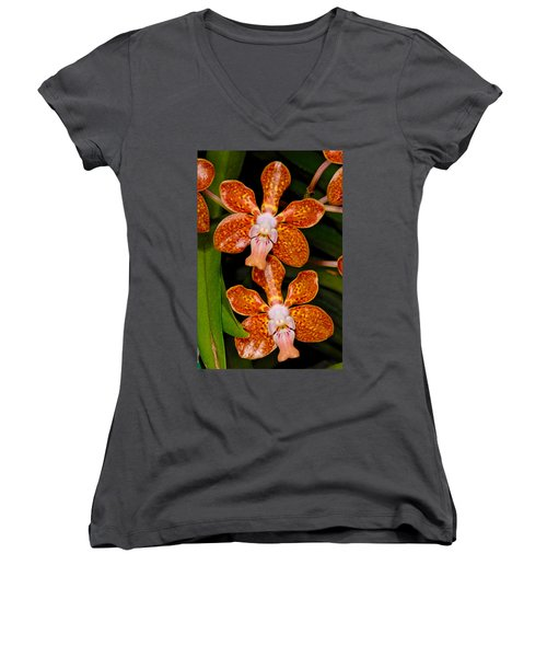 Orchid 450 Women's V-Neck (Athletic Fit)