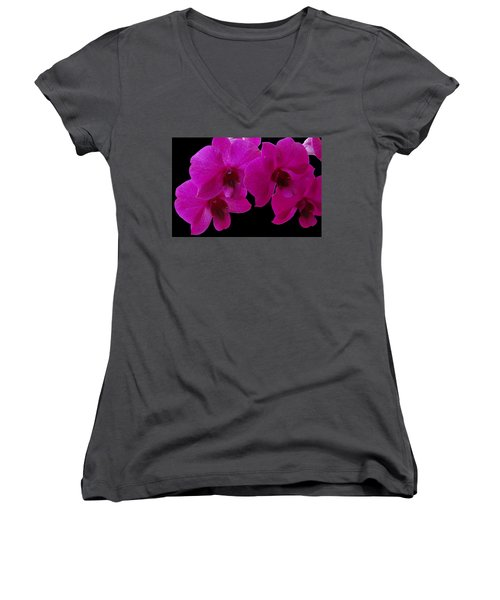 Orchid Song Women's V-Neck