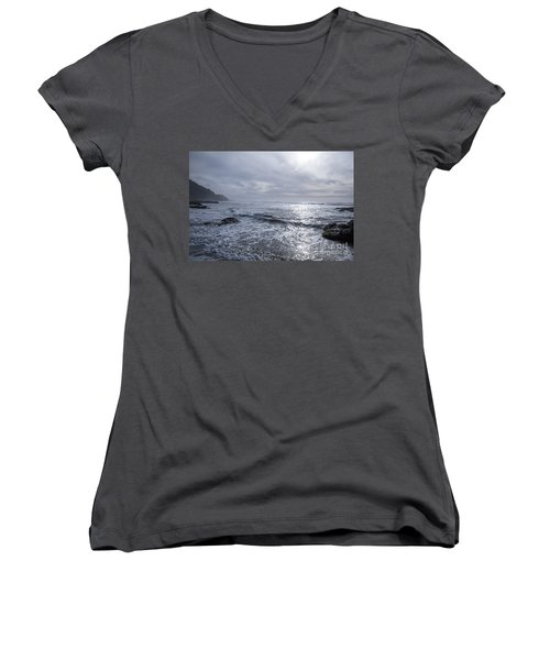 Oregon Coast Women's V-Neck (Athletic Fit)