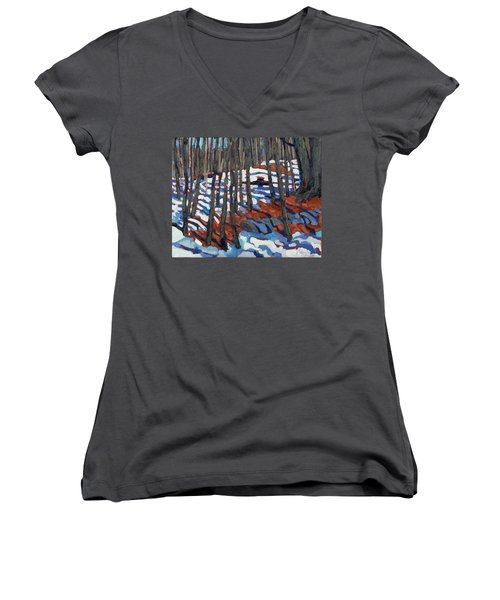 Original Homestead Women's V-Neck T-Shirt (Junior Cut)