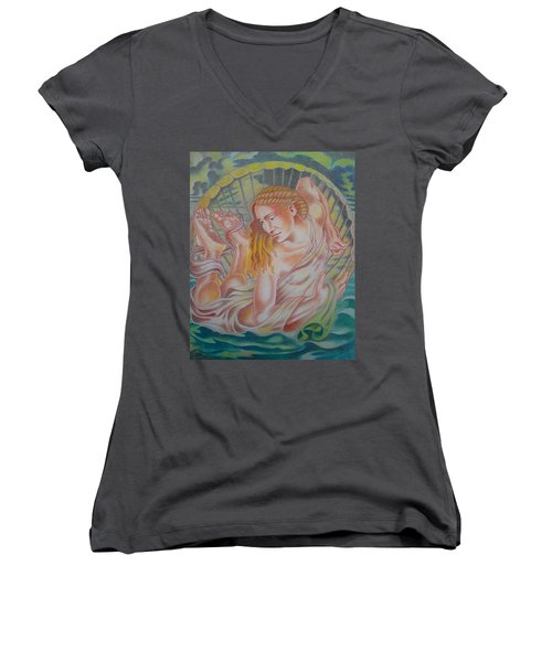 Ortus Veneris  Women's V-Neck T-Shirt