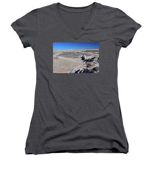 Women's V-Neck T-Shirt (Junior Cut) featuring the photograph Otherworldly by Gary Kaylor