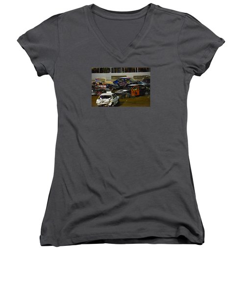 Ouch.... Women's V-Neck T-Shirt