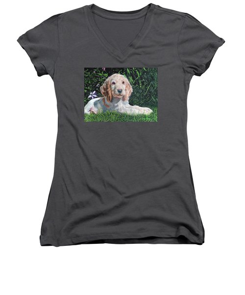 Our Archie Women's V-Neck