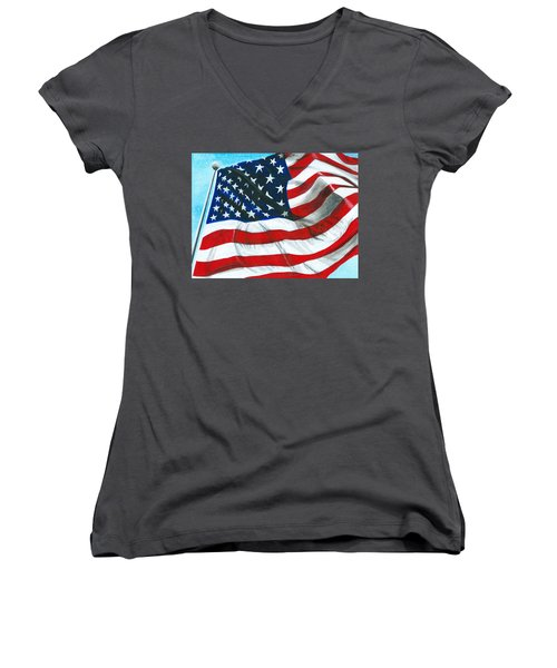 Our Civil Rights Women's V-Neck (Athletic Fit)