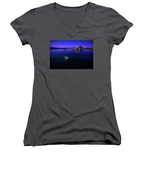 Our Desolate Earth Women's V-Neck (Athletic Fit)