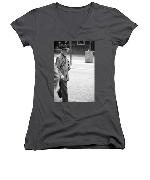 Out For A Stroll Women's V-Neck