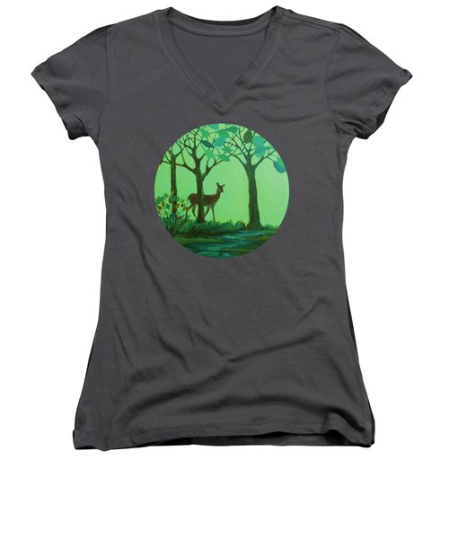 Out Of The Forest Women's V-Neck