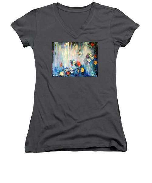 Out Of Time Women's V-Neck