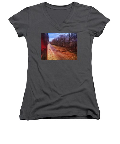 Out The Window Women's V-Neck