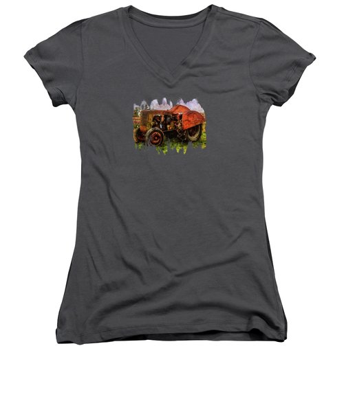 Put Out To Pasture Women's V-Neck