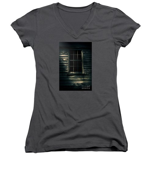 Women's V-Neck T-Shirt featuring the photograph Outback House Of Horrors by Jorgo Photography - Wall Art Gallery