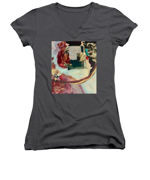 Outside The Realm Women's V-Neck T-Shirt