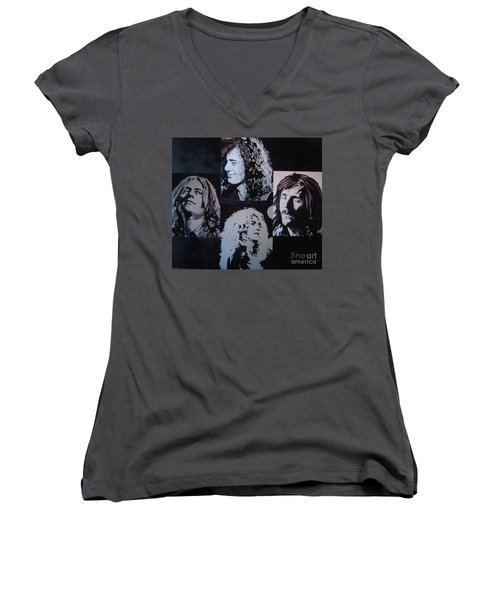 Outtakes Of The Outtakes Women's V-Neck T-Shirt (Junior Cut) by Stuart Engel