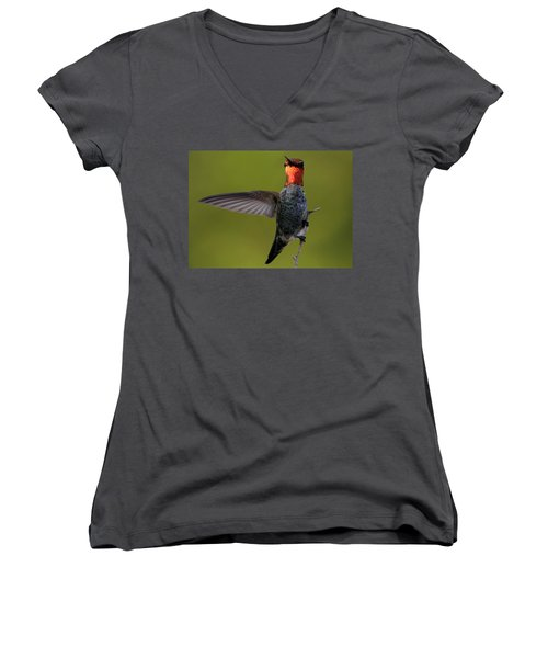 Over There Women's V-Neck (Athletic Fit)