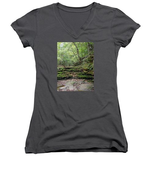 Ozark Creek Women's V-Neck T-Shirt