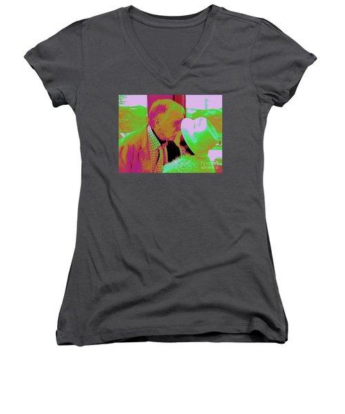 P3 Women's V-Neck T-Shirt