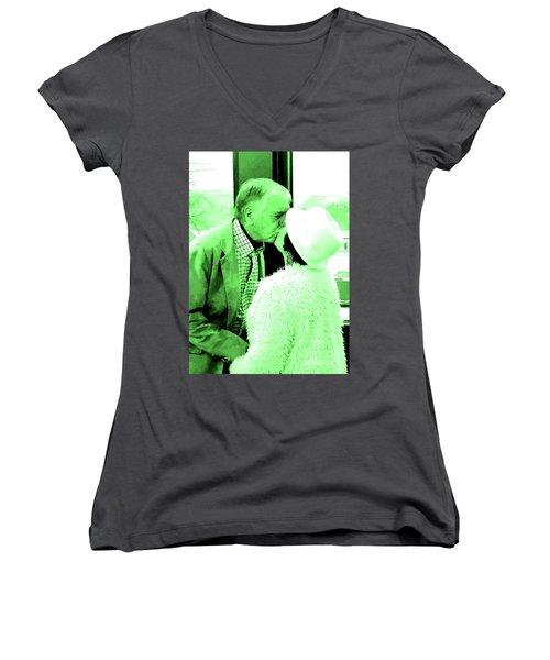 P5 Women's V-Neck T-Shirt