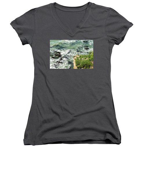 Pacific Overlook Women's V-Neck (Athletic Fit)