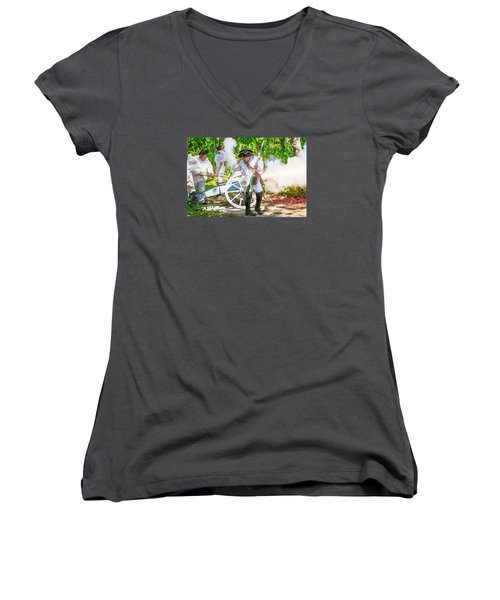 Page 12 Women's V-Neck T-Shirt