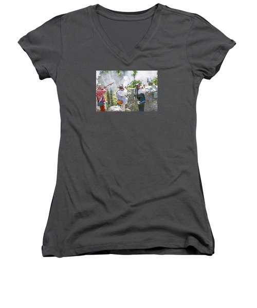 Page 28 Women's V-Neck T-Shirt