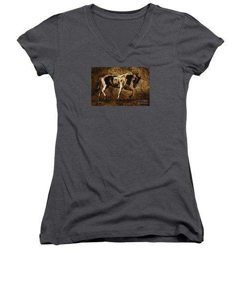 Paint Horse Women's V-Neck
