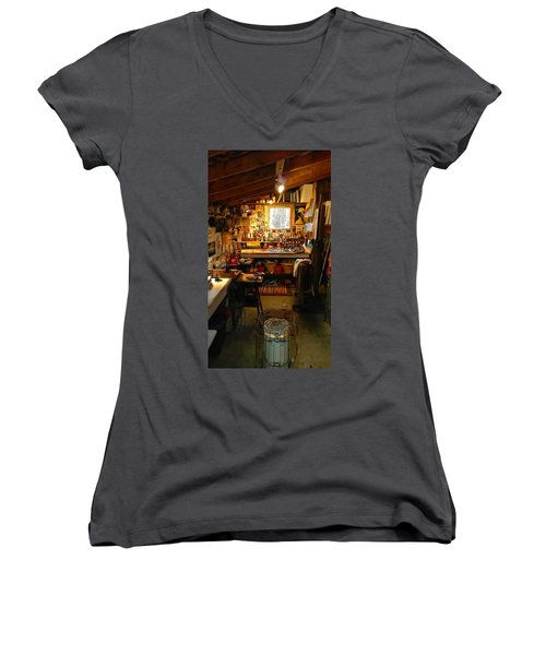 Paint Shed Women's V-Neck