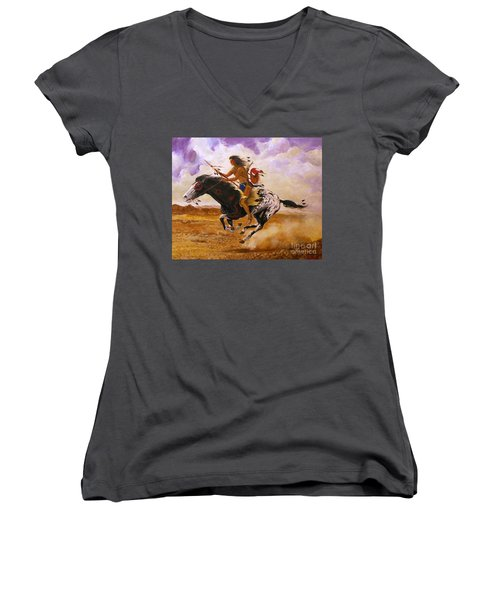 Painted Arrow Women's V-Neck T-Shirt