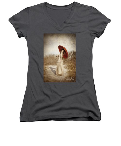Painted Lady Women's V-Neck