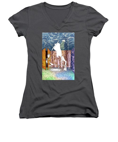 Painter Women's V-Neck (Athletic Fit)