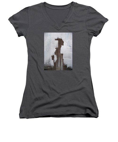 Painting Something Women's V-Neck T-Shirt