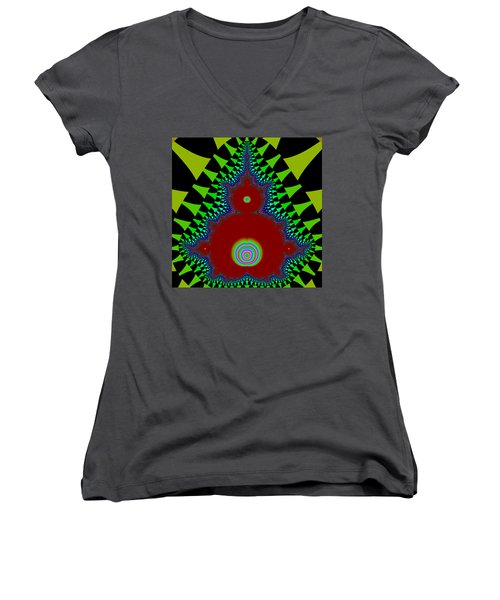 Pallygages Women's V-Neck