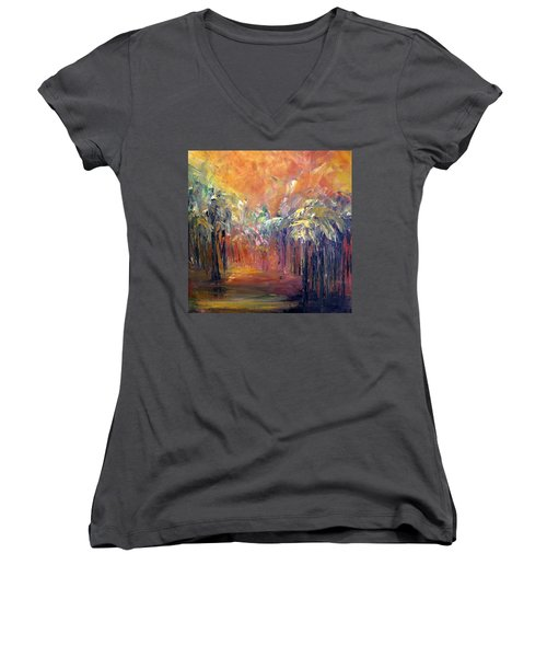 Palm Passage Women's V-Neck