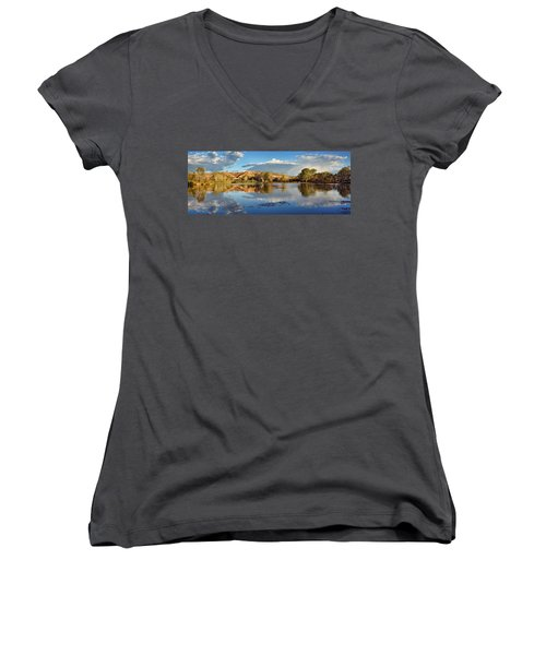 Panoramic Reflections Women's V-Neck
