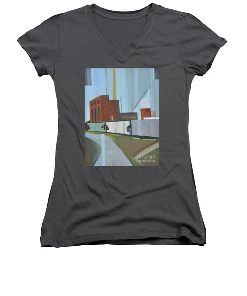 Paperboard Factory Bogota Nj Women's V-Neck T-Shirt