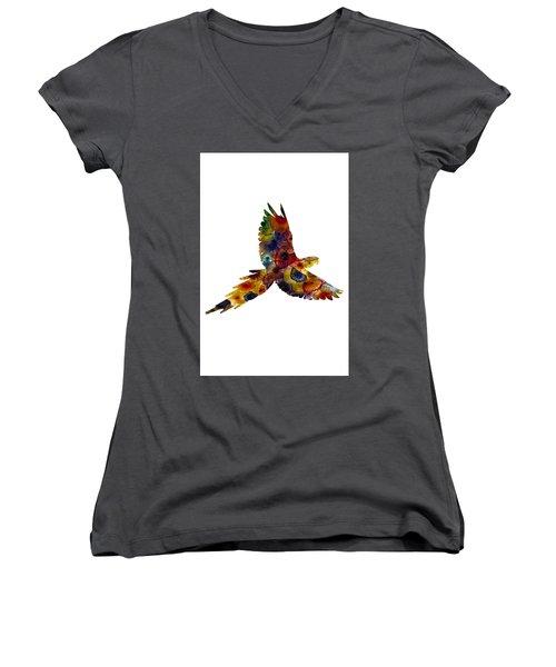 Parrot Women's V-Neck