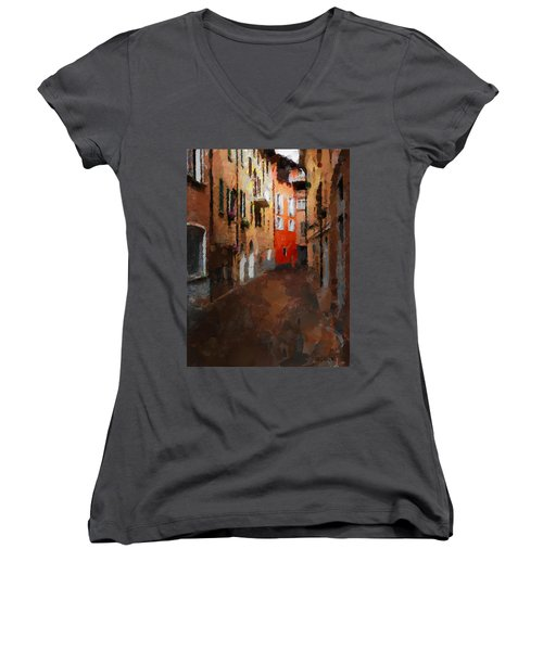 Parting Women's V-Neck