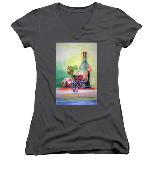 Party Arrangement Women's V-Neck T-Shirt