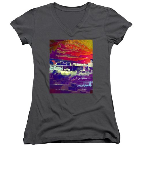 Passing Attraction Women's V-Neck (Athletic Fit)
