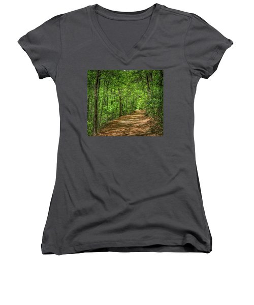 Path Less Travelled Women's V-Neck