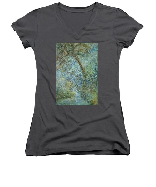 Path Of Invitation Women's V-Neck