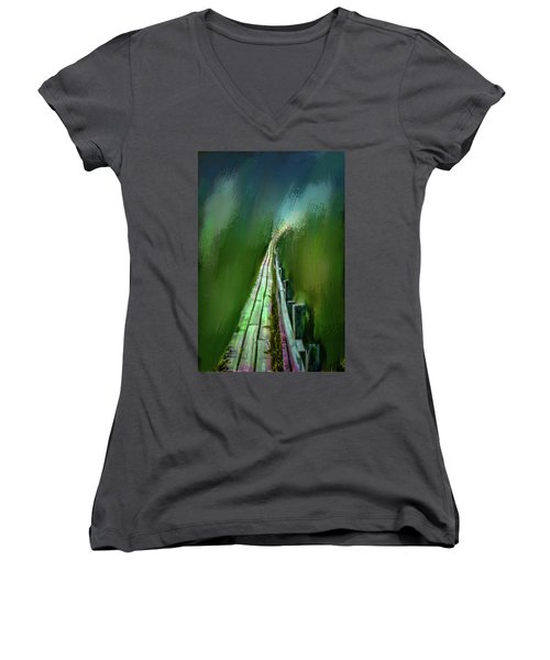 Path To The Unknown #h5 Women's V-Neck