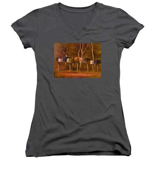 Patiently Waiting Women's V-Neck T-Shirt