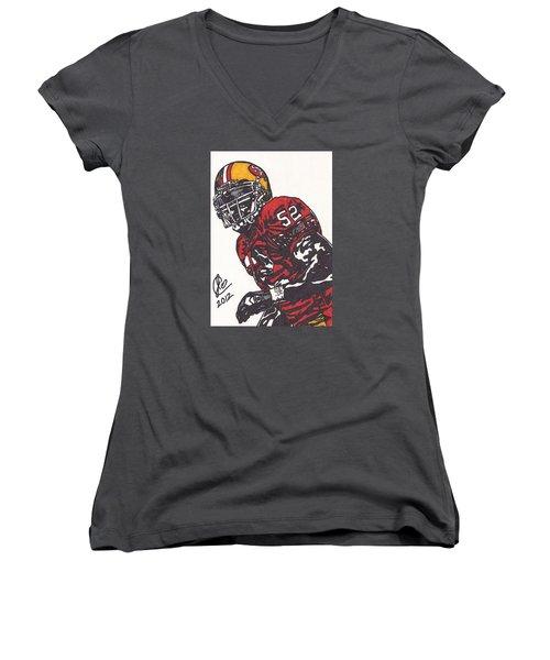 Patrick Willis Women's V-Neck T-Shirt