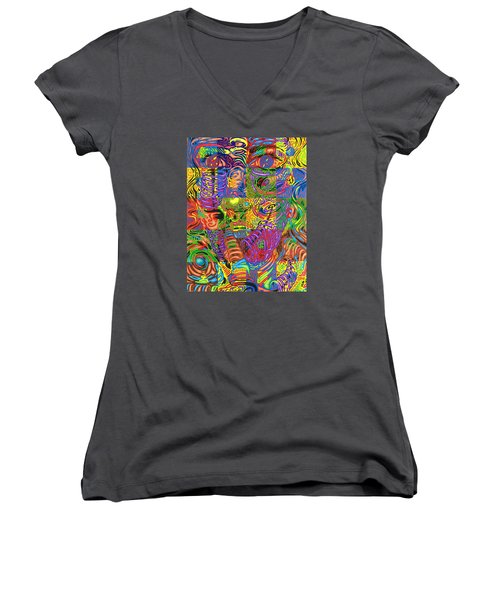 Patterns Of Personality Women's V-Neck