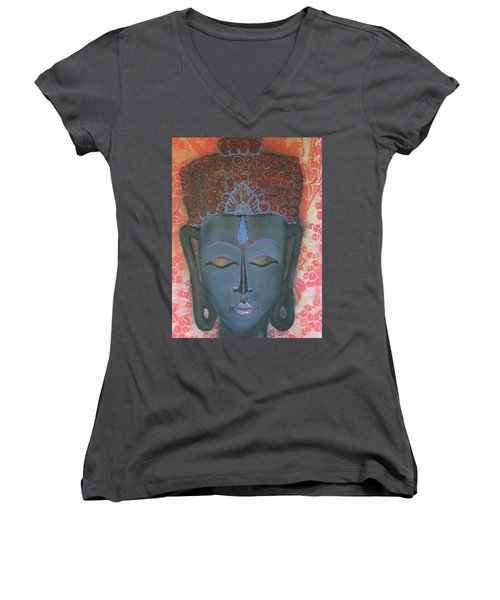 Peace 1 Women's V-Neck (Athletic Fit)