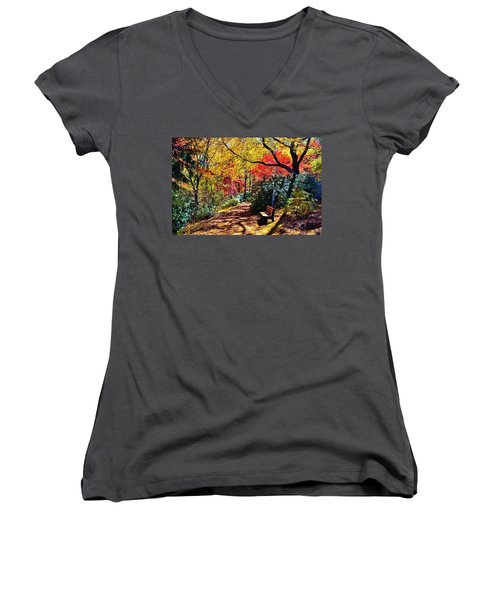 Peace And Tranquility Women's V-Neck