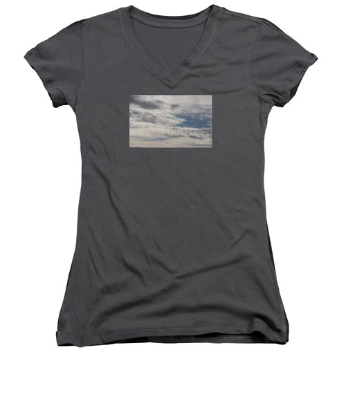 Peeking Sky Women's V-Neck