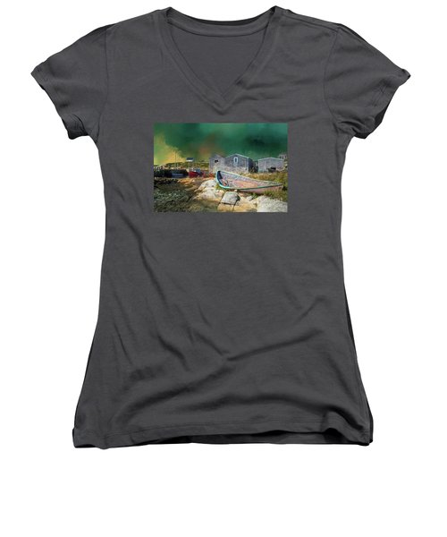 Peggy's Cove Women's V-Neck