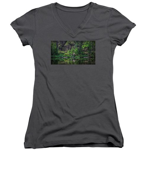 Pena Blanca Lake, Az Women's V-Neck